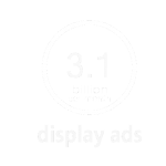 3.1 billion display imps per month
